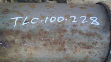 Глушитель Lexus LX470 задняя часть 17405-50030