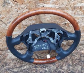 Руль Lexus LX470 серый комб. 45100-60380-B0