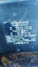 Фаркоп Nissan Pathfinder R51 Америка без крюка