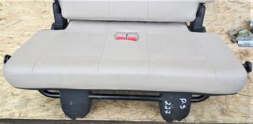 Сиденье 3-й ряд Mitsubishi Pajero 3 кожа бежевый MR645979