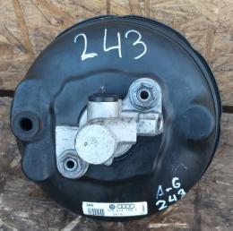 Усилитель вакуумный тормозов Audi A6 C6 F4 4F0612107E