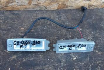 Фонарь подсветки номера. Lexus GX 460  81270-60410