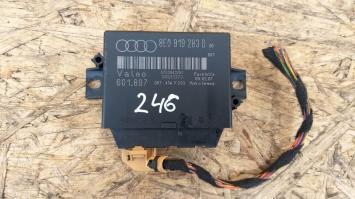 Блок парковки Audi A4 B7 задний 8E0919283D  8E0919283D