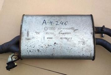 Глушитель Audi A4 B6 B7 01-08гг. AVJ BEX BFB 8E0253409BM