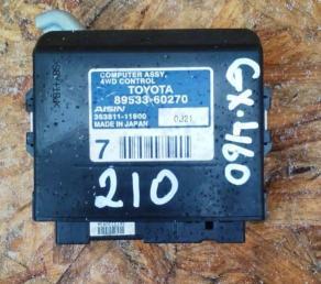 Блок управления 4WD Lexus GX460 89533-60270