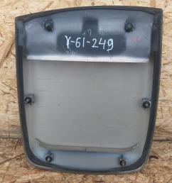 Накладка капота Nissan Patrol Y61 рестайлинг 65852-VD210