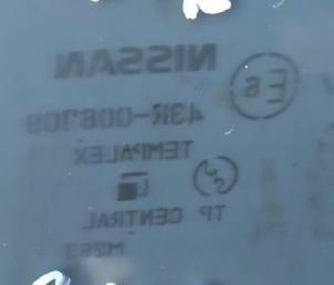 Стекло кузовное Nissan Patrol Y61 правое рестайлинг 83300-VD300