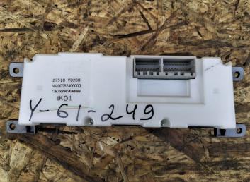 Блок управления кондиционером Nissan Patrol Y61 27510-VD200