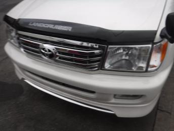 Юбка переднего бампера Toyota Land Cruiser 100
