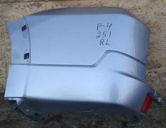 Клык заднего бампера Mitsubishi Pajero 4 L рест 6410B321HD