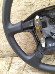 Руль Nissan Patrol Y61 полиуретан gray 48430-VB200