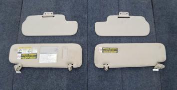 Козырек солнцезащитный Toyota Land Cruiser 100 к-т 74320-6A060-A0 74310-6A070-A0