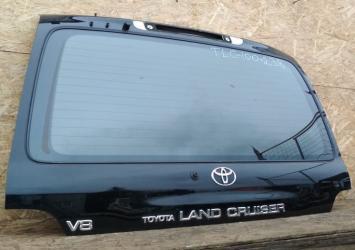 Крышка багажника Toyota Land Cruiser 100 черная 67005-60810