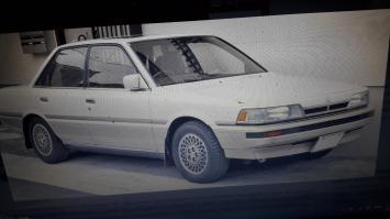 Бампер Toyota Camry 1986-1990