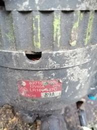 генератор 4JG2  Isuzu ELF 8971876580