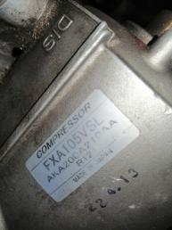 Компрессор кондиционера на MITSUBISHI DIAMANTE F25A 6G73 FXA105VS FXA105VS