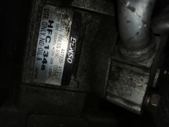 Компрессор кондиционера на MITSUBISHI CHARIOT GRANDIS 4G64 4472204121 4472204121