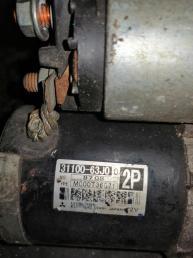 Стартер на SUZUKI SWIFT ZC31S, M13A, M15A, M16A 3110063J00 3110063J00