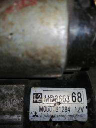 Стартер на MITSUBISHI PAJERO IO H66W 4G93 MD360368 MD360368