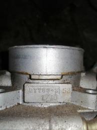 Дроссельная заслонка на SUBARU LEGACY BE5 EJ208 RTT60353 RTT60353