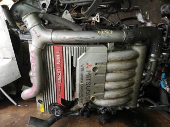 Двигатель 6A13TT Mitsubishi Legnum EC