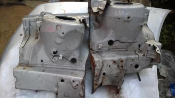Стаканы передние Mitsubishi Lancer 9