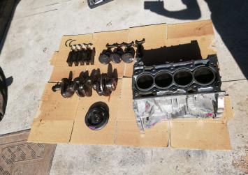 Двигатель MR20 в разбор