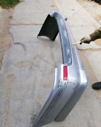 Бампер задний Nissan Wigroad Y10