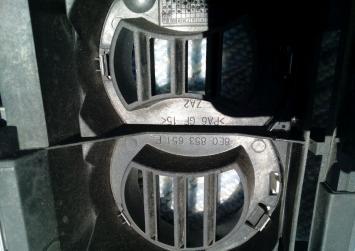 Решетка радиатора Audi A4 B6 8E0853651F