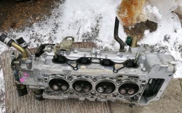 Головка блока цилиндров Nissan QG16 белоголовая