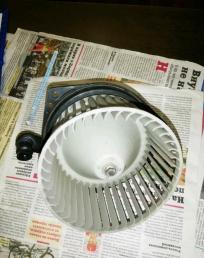 Мотор печки Nissan Cube Z10