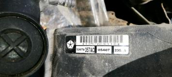 Радиатор Jeep Grand Cherokee WJ  52079357AC