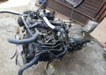 Двигатель 2lthe Toyota Crown LS130