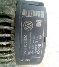 Генератор VAG мотор AAZ 028903025Q  028903025Q
