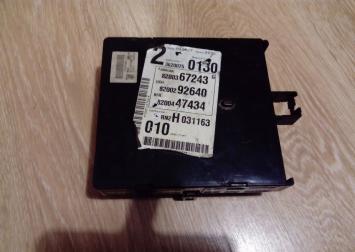 Блок электронный Renault Espace IV, Laguna II 8200292640