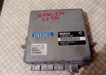 Блок управления двигателем BMW 5-серия E34 2.5 D 0281001163