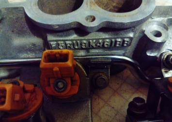 Коллектор впускной в сборе Ford Mondeo III 2.5 L F5RU9K461BB