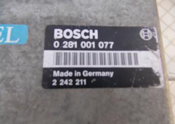Блок управления двигателем BMW-E 34 TDI 0281001077