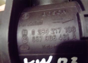 037906461A Расходомер воздуха (массметр) VW Golf 3 037906461A