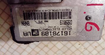 Блок управления двигателем Opel Astra F 1.6 16178189