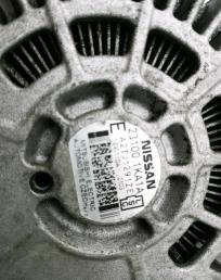 Генератор Nissan Juke (F15), Sentra (B17), Tiida 231001KA1A