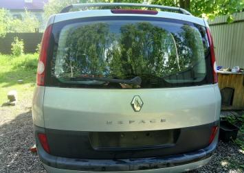 Дверь багажника со стеклом Renault Espace IV