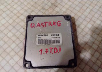Блок управления двигателем Opel Astra G 1.7 Isuzu 09391249