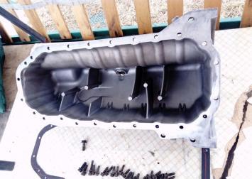 Поддон масляный двигат. VW Transporter T4 2.4 D