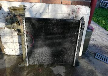 Радиатор основной Mercedes Bens Vito (638) 8MK376721-381