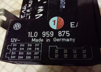 Блок управления стекл. Seat Toledo VW.1L0959875EA VW.1L0959875EA