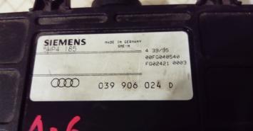 Блок управления двигателем Audi A6 (C4) A100 (C4) 039906024D