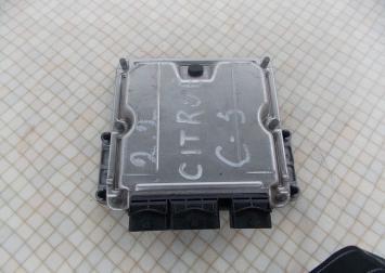 Блок управления двигателем Citroen C5 2.2 HDI