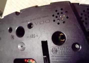 Панель приборов для Skoda Octavia 1997-2000 1U1919033