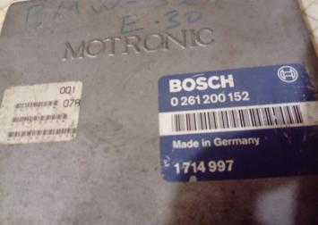 Блок управления двигателем BMW 3-серия E30 2.0L 0261200152